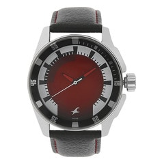 Fastrack RED Dial Analog Watch for Men
