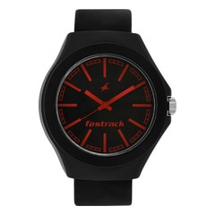 Fastrack Black Dial Analog Watches for Unisex