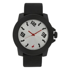 Fastrack Silver Dial Analog Watch for Unisex