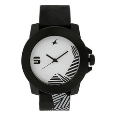 Fastrack White Dial Analog Watch for Unisex