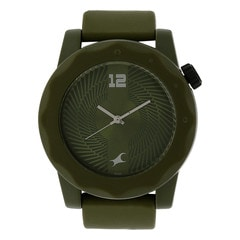 Fastrack Green Dial Analog Watch for Unisex