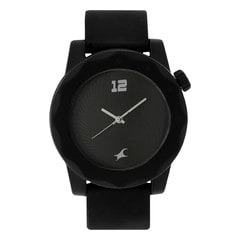 Fastrack Black Dial Analog Unisex Watch