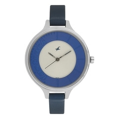 Fastrack Silver Dial Analog Watch for Women