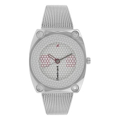 Fastrack White Dial Analog Watch for Women