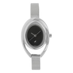 Fastrack Black Dial Analog Watch for Women