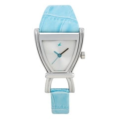 Fastrack Silver White Dial Analog Watch for Women