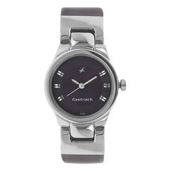 Fastrack Purple Dial Analog Watch for Women