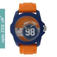 Fastrack Unisex Orange Dial Analog WatchUnisex-38018PP02J