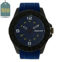 Fastrack Watch Blue Dial Analog For Men