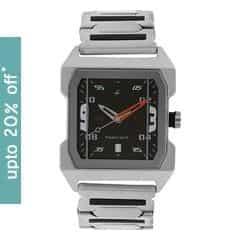 Fastrack Black Dial Analog Watch For Men-NE1474SM02