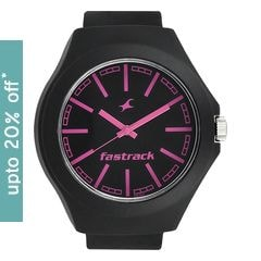 Fastrack Watch Black Dial Analog For Unisex