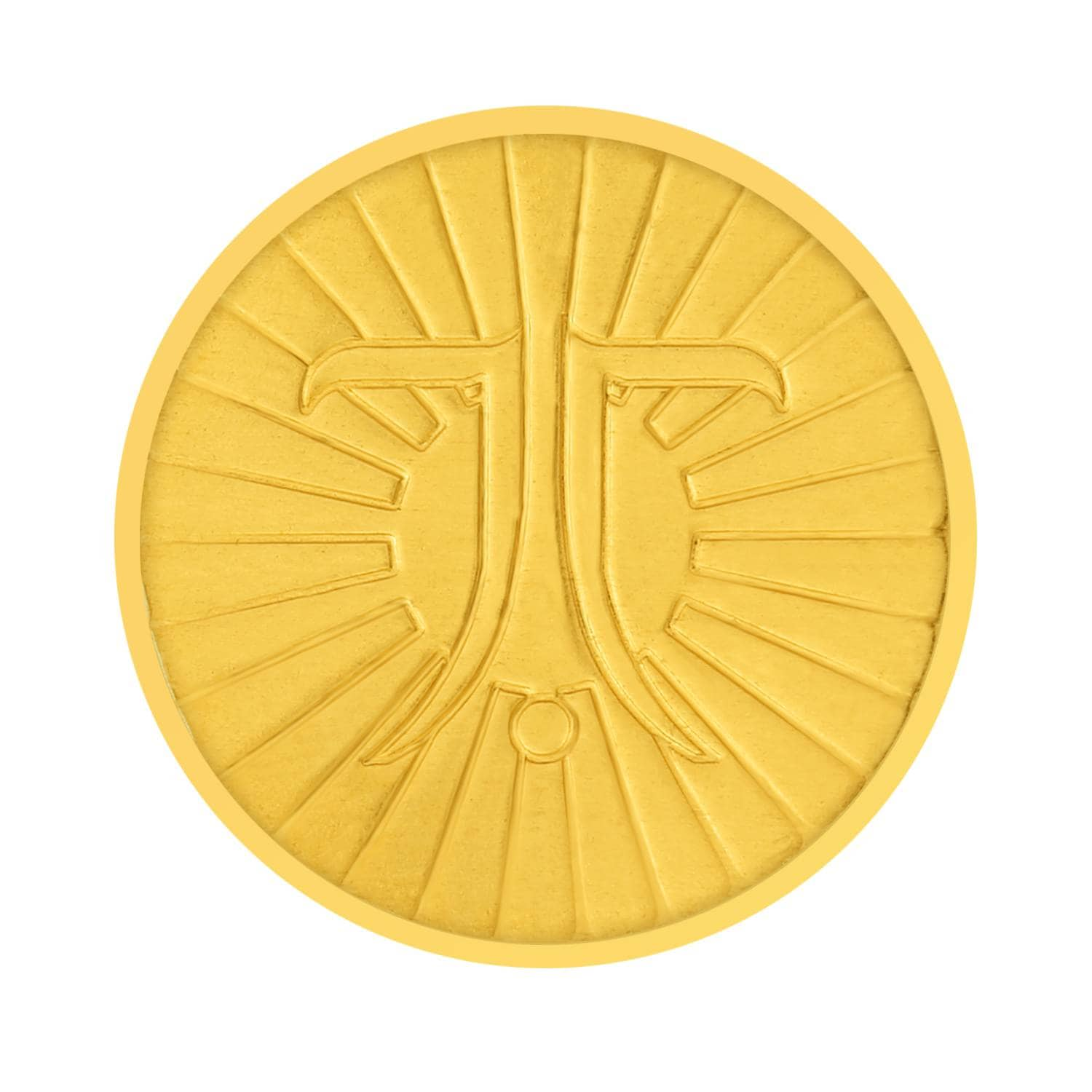 Buy Tanishq 24kt 10 gram Gold Coin At Best Price line India Titan