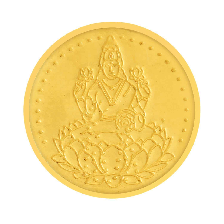 Buy 24 KT Gold Coin - Tanishq Gold Coin 600105ZGBRAS00 @ Titan