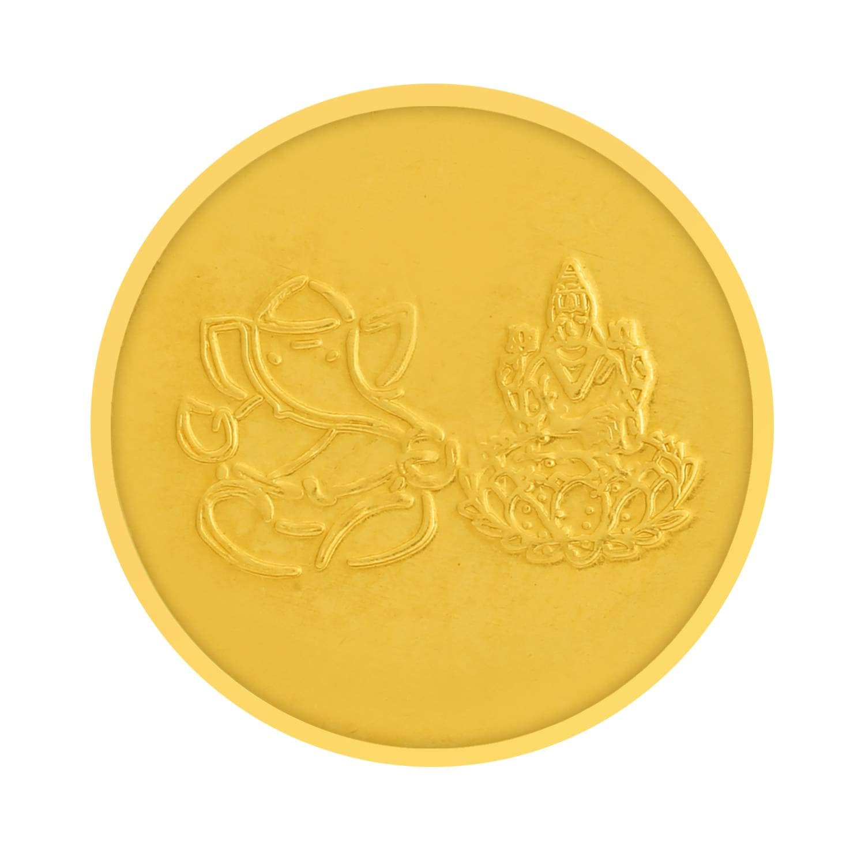 Buy 22 KT Gold Coin - Tanishq Gold Coin 600113ZEARAP00 @ Titan