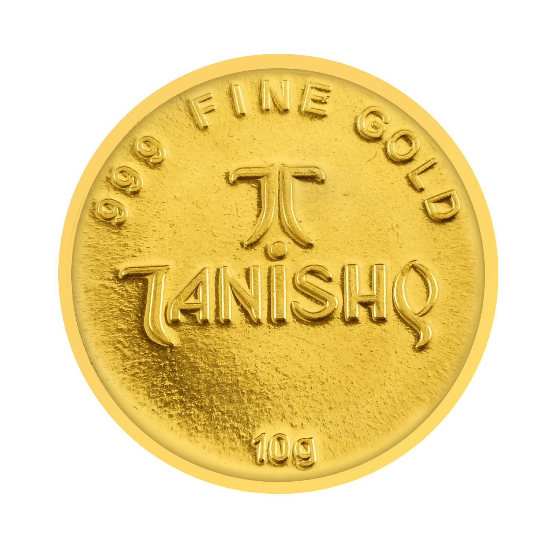 Tanishq 24 KT Gold Coins ID 600107ZAARAS00 Buy Online @ Titan