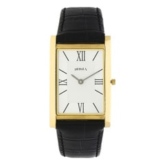 Nebula 18KT Solid Gold Analog Watch for Men with White Dial