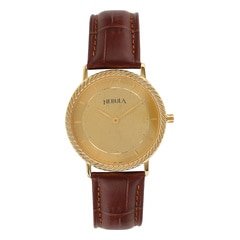 Titan Nebula 18KT Solid Gold Watch For Men in Champagne Dial-ND1015DL02