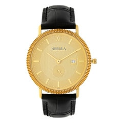 Titan Nebula 18KT Solid Gold Watch For Men in Champagne Dial-ND620DL03