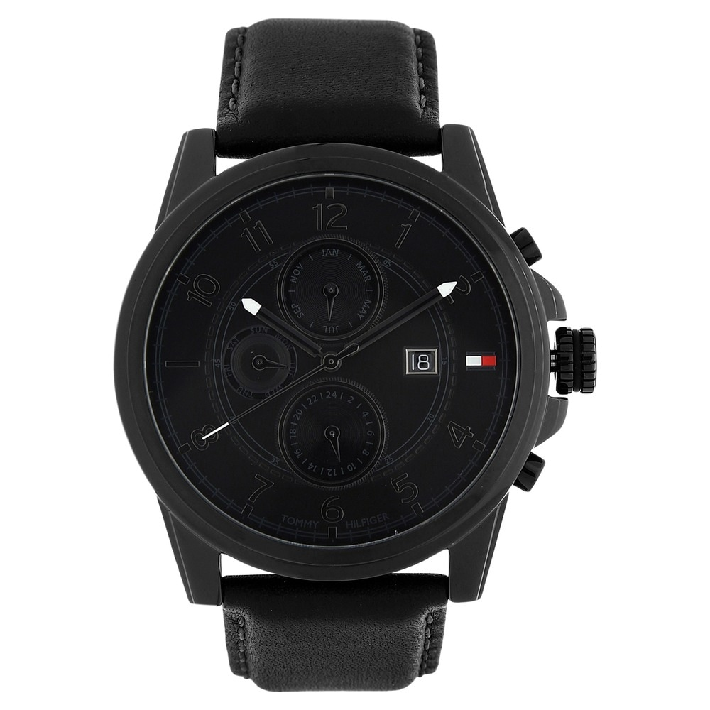 dial watch men silver watches black accessories image from hugo boss