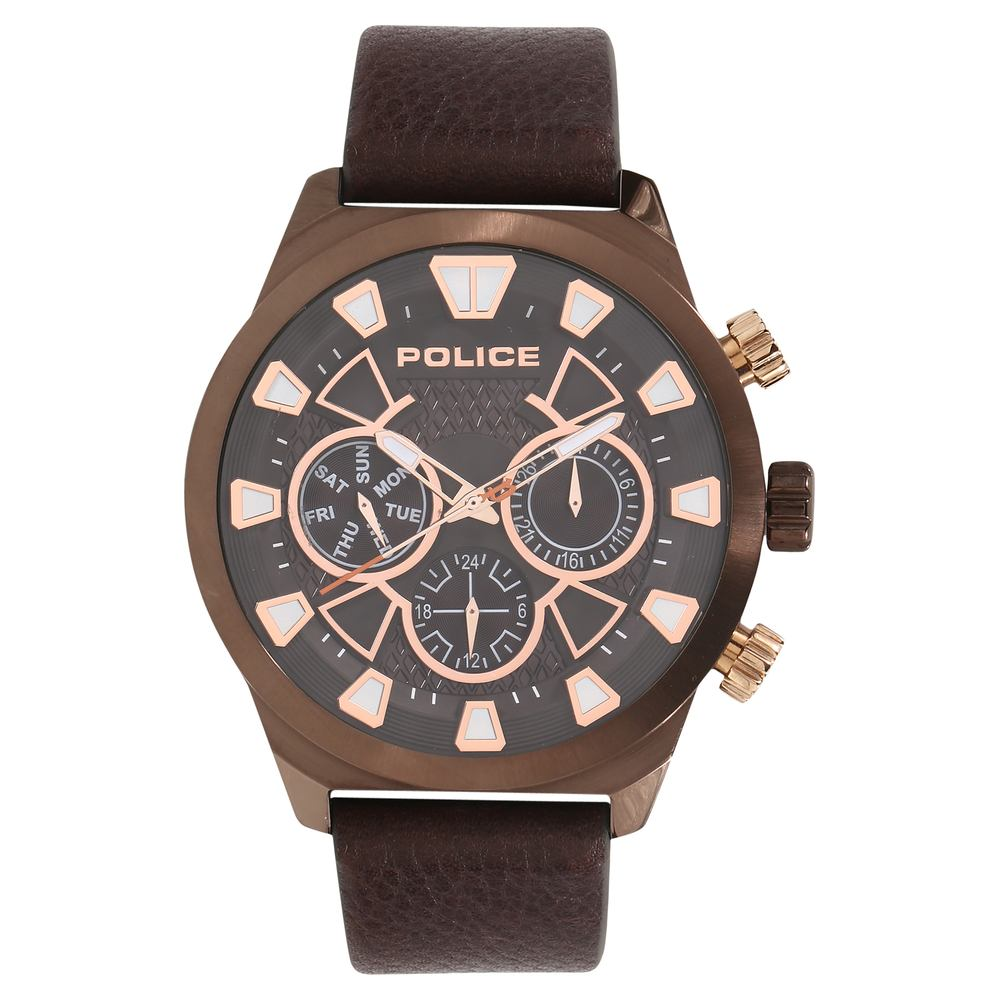 leather chronograph momentum chrono ss watches products men s