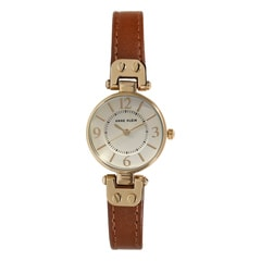 Anne Klein Gold Dial Analog Watch for Women