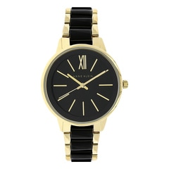 Anne Klein Black Dial Analog Watch for Women