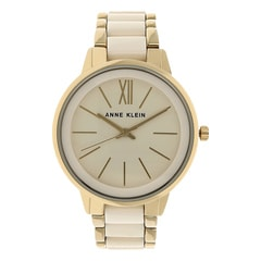 Anne Klein Ivory Dial Analog Watch for Women