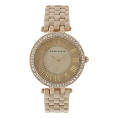 Anne Klein Grey Dial Analog Watch for Women