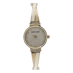 Anne Klein Mother of Pearl Dial Analog Watch for Women