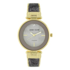 Anne Klein Blue Mother of Pearl Dial Analog Watch for Women