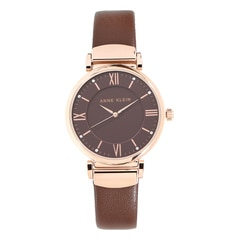 Anne Klein Brown Dial Analog Watch for Women