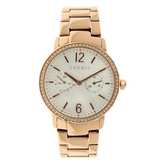 Esprit White Dial Multifunction Watch for Women