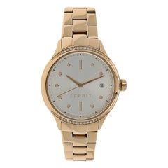 Esprit White Dial Analog Watch for Women