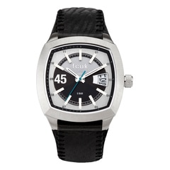 FCUK Square Dial Analog Watch for Men-FC1079SSGN