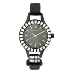 FCUK Black Dial Analog Watch for Women