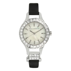 FCUK White Dial Analog Watch For Women-FC1155BWJ