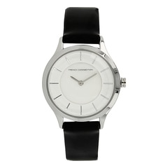 FCUK White Dial Analog Watch For Women-FC1171BWJ
