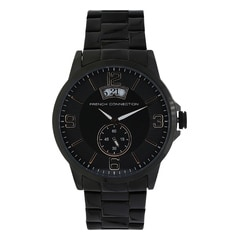 FCUK Black Dial Watch For Men-FC1209BMGJ
