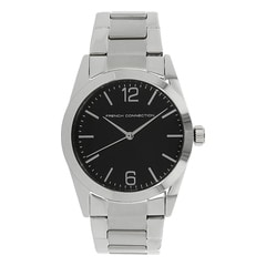 FCUK Black Dial Watch For Men-FC1217BSMGJ