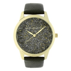 FCUK Multicoloured Dial Leather Strap Watch for Women