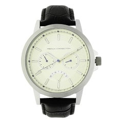 FCUK Beige Dial Chronograph Watch for Men