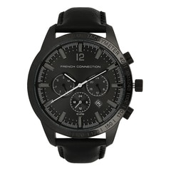 FCUK Black Dial Watch For Men-FC1236BBGJ
