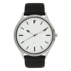 FCUK White Dial Watch For Men-FC1241BWGJ