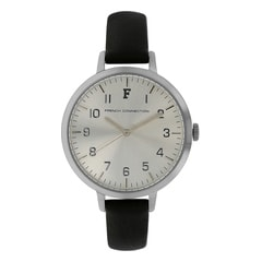 FCUK Silver Dial Watch For Women-FC1248BWJ
