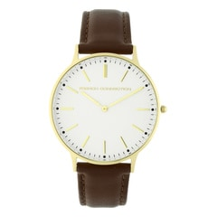 FCUK White Dial Analog Watch for Men
