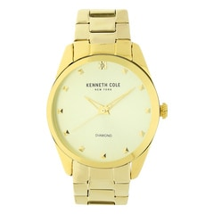 Kenneth Cole Classic White Dial Analog Watch for Women