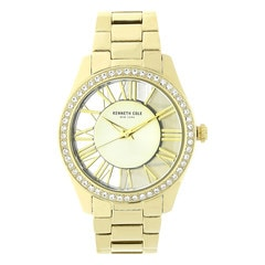 Kenneth Cole Gold Dial Analog Watch for Women
