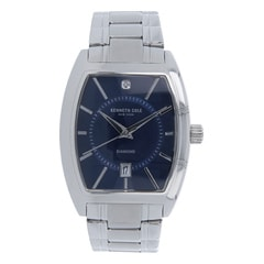 Kenneth Cole Blue Dial Analog Watch for Men