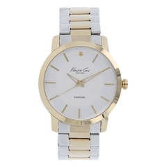 Kenneth Cole Silver Dial Analog Watch for Men