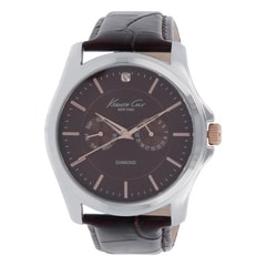 Kenneth Cole Brown Dial Analog Watch for Men
